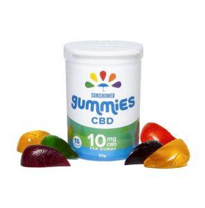 Baked Edibles Inc CBD Sunshower Gummy Drops
