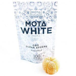 Mota White CBD Clear Sphere